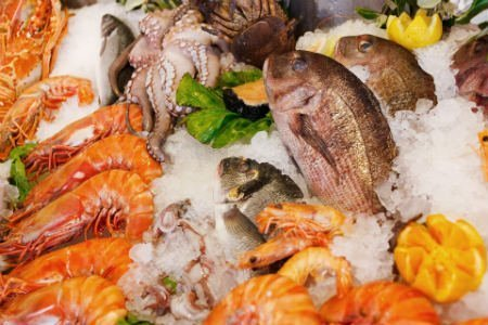 Fish and shellfish proteins