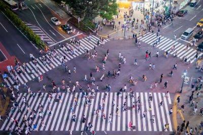 People in Shibuya